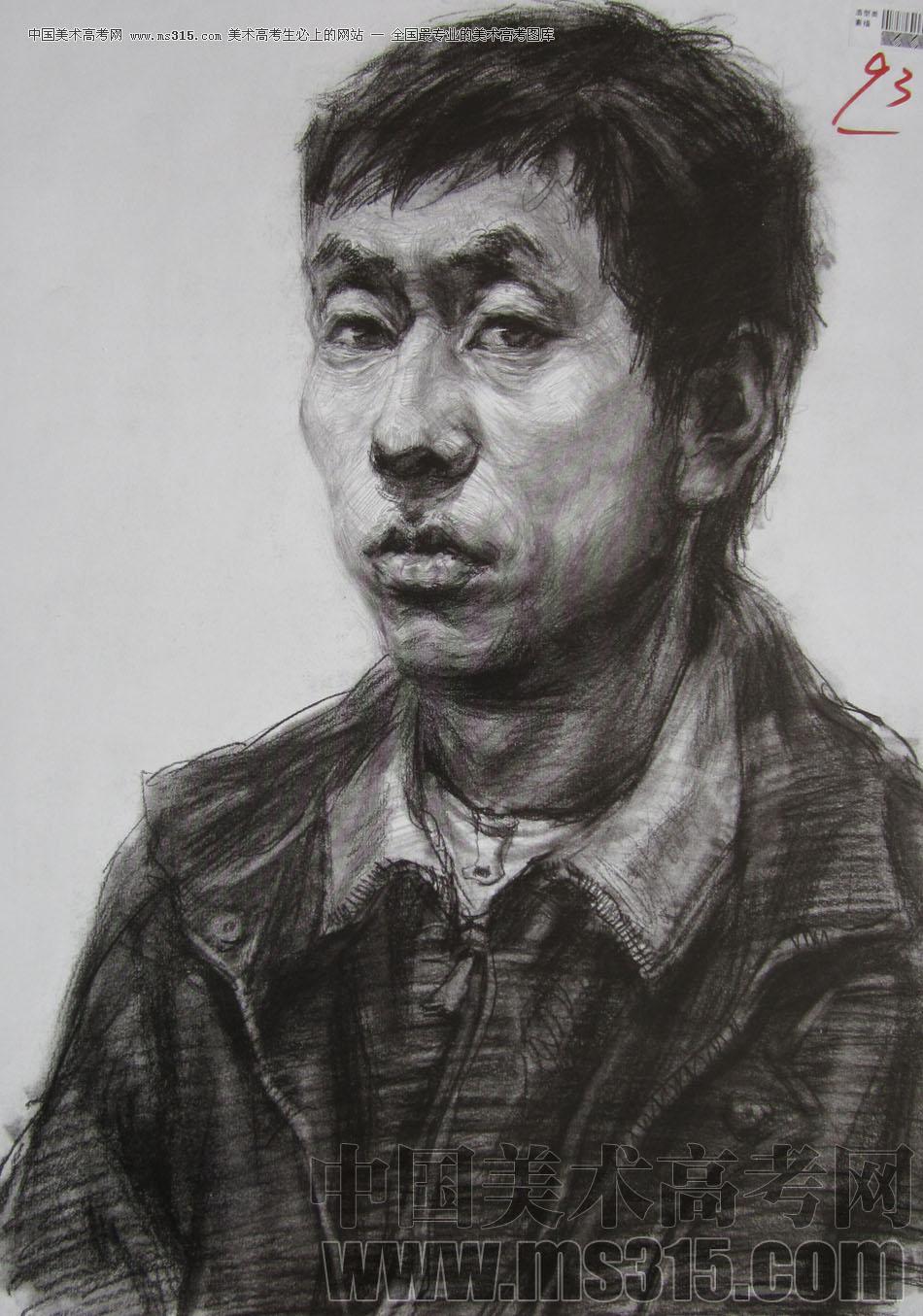 2010年四川美术学院素描优秀试卷17