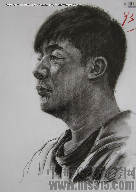 2010年四川美术学院素描优秀试卷24