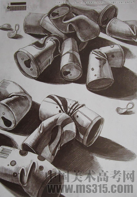 中央美术学院2010年艺术设计优秀试卷10(素描)