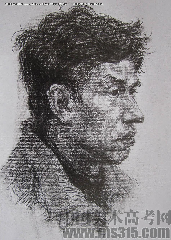 2010-2011年天津美术学院素描优秀试卷10(绘画,雕塑)