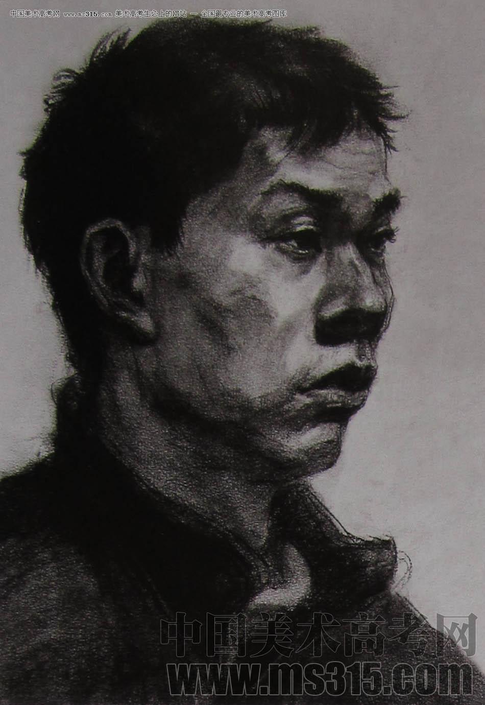 2010-2011年天津美术学院素描优秀试卷12(绘画、雕塑)