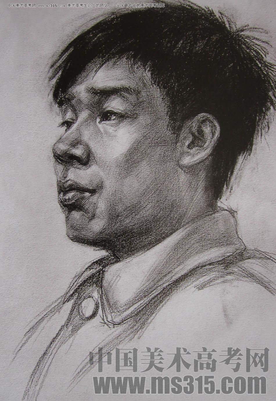 2010-2011年天津美�g�W院素描��秀�卷15(�L��、雕塑)
