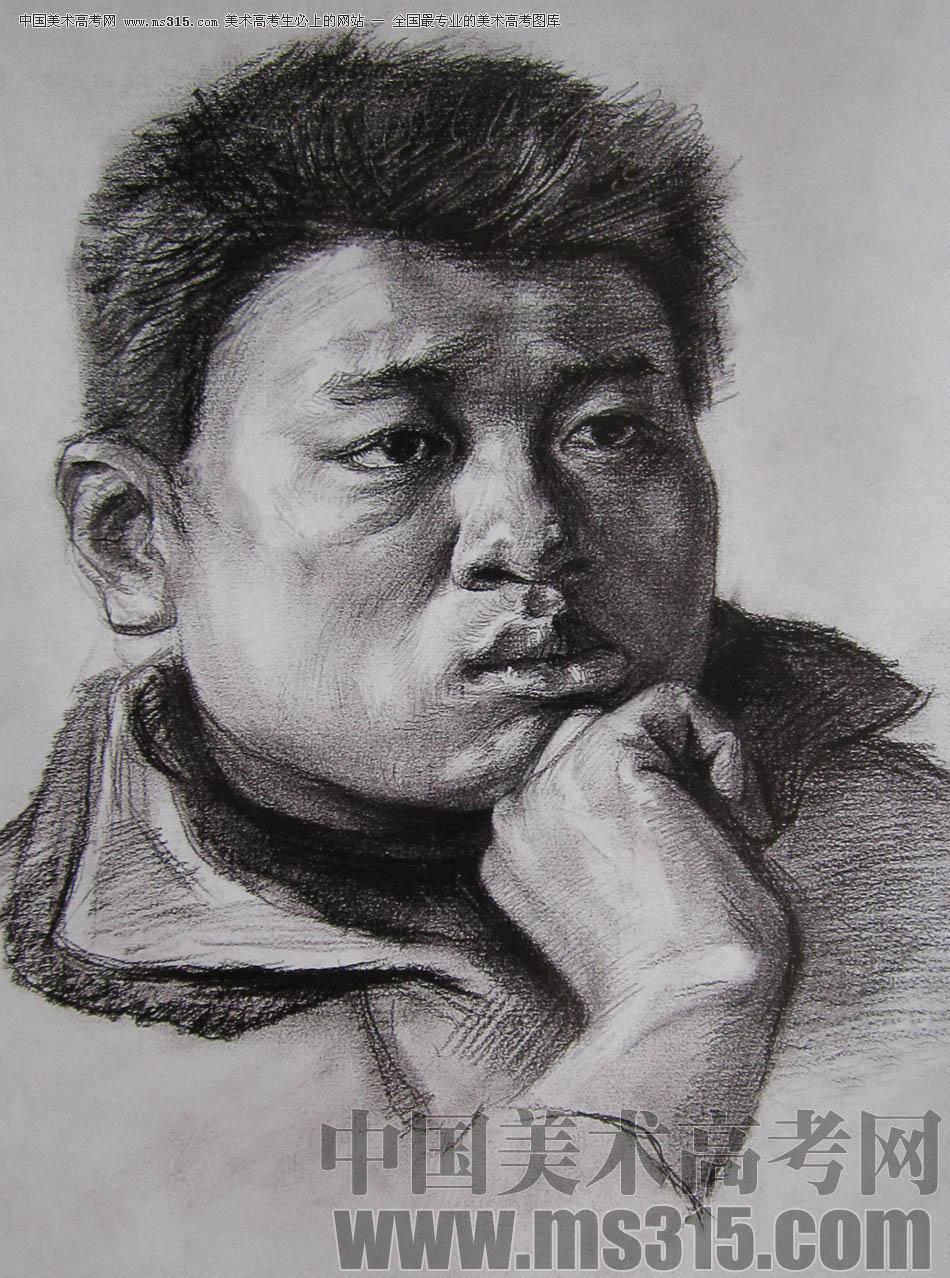 2010-2011年天津美术学院素描优秀试卷1(绘画、雕塑)