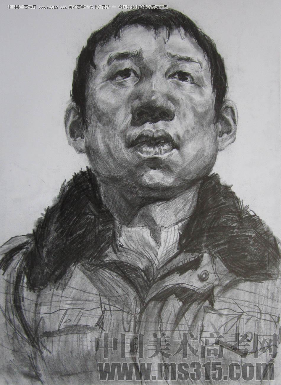 鲁迅美术学院2011年素描优秀试卷7