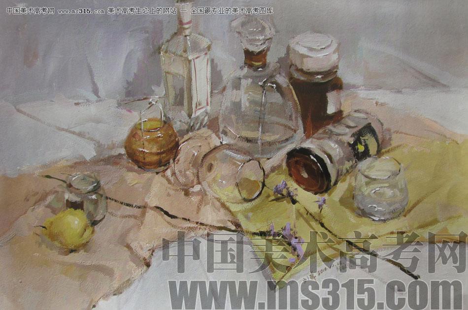 中央美术学院状元刘洋色彩静物作品21