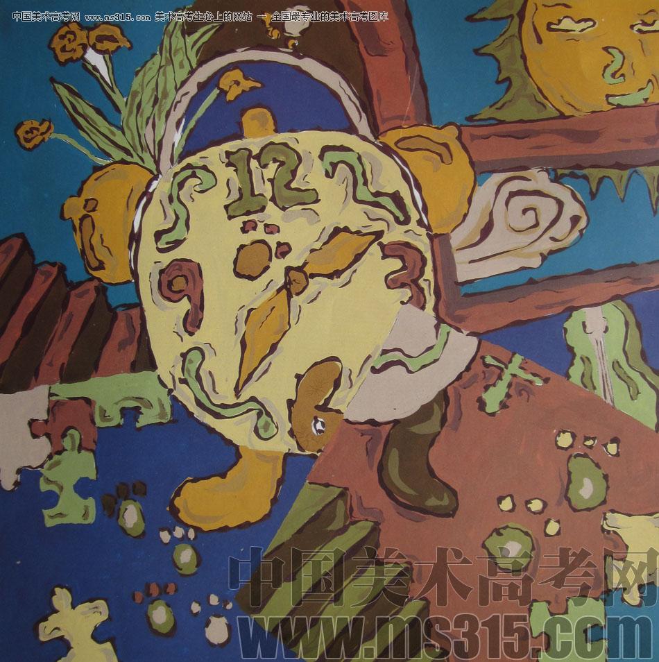 2009年鲁迅美术学院设计基础优秀试卷7