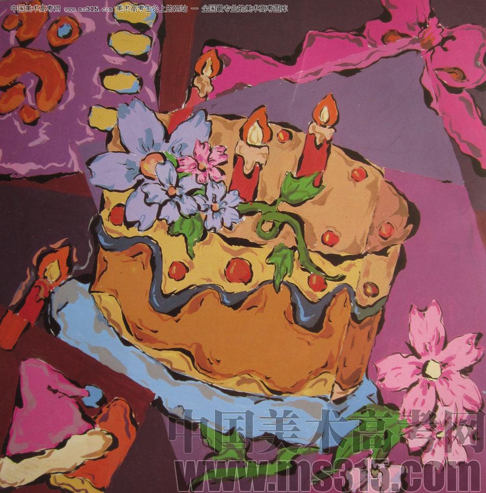 2009年鲁迅美术学院设计基础优秀试卷27_美术高考图库