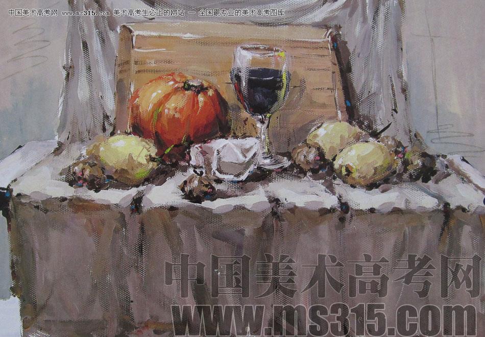 2012年鲁迅美术学院色彩优秀试卷13