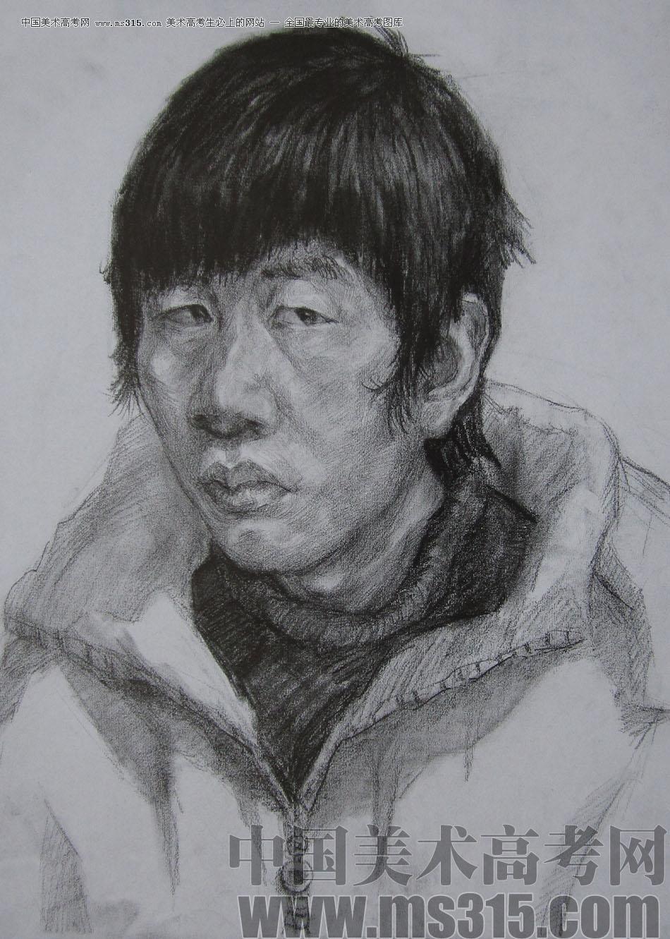 2012年鲁迅美术学院素描优秀试卷19