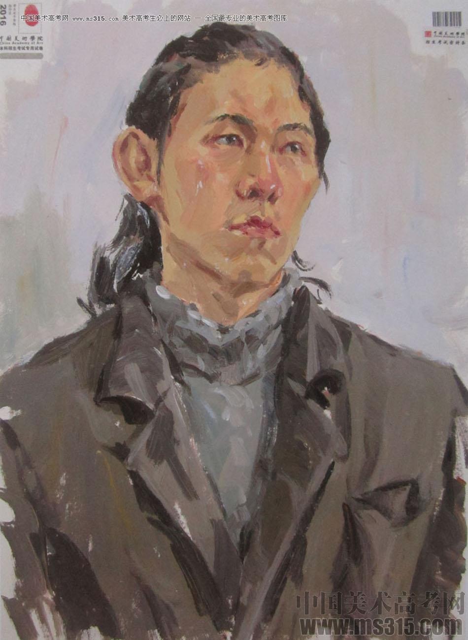 2016中国美术学院色彩高分试卷6