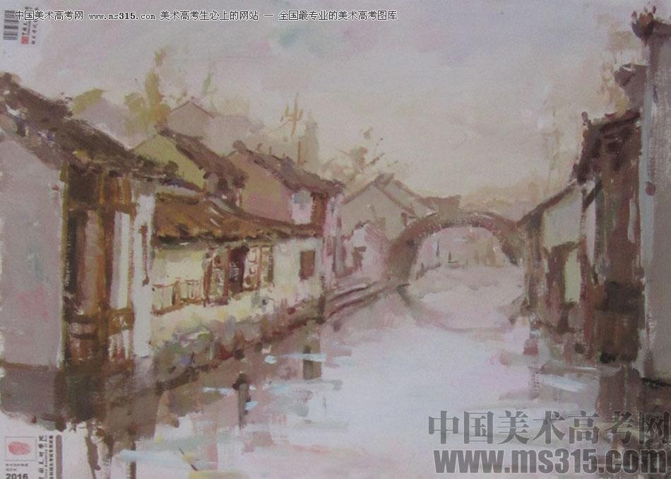 2016中国美术学院色彩高分试卷10