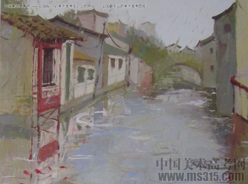 2016中国美术学院色彩高分试卷19
