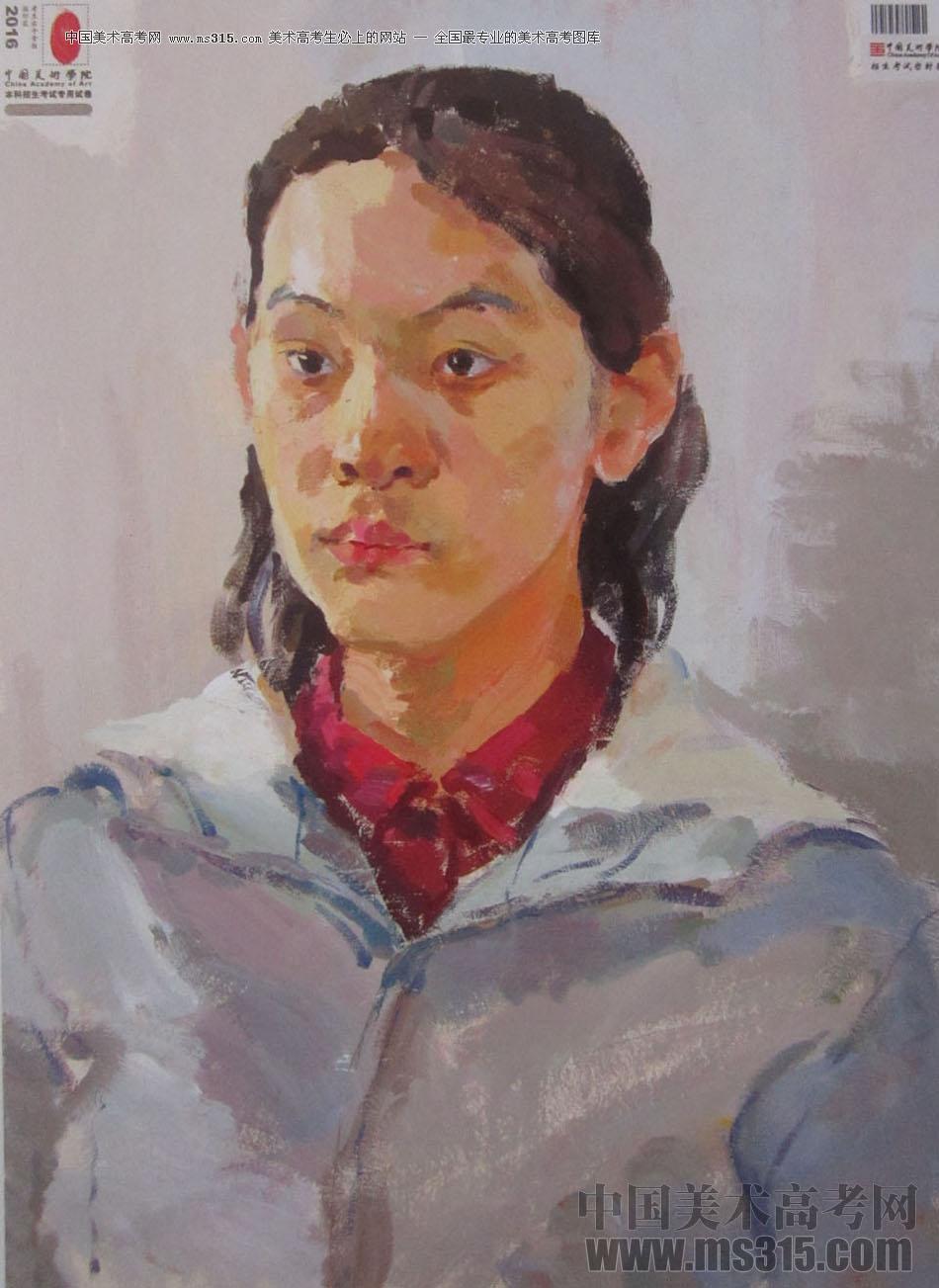 2016中国美术学院色彩高分试卷21