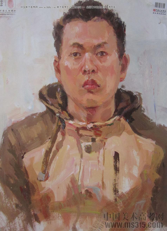 2016中国美术学院色彩高分试卷23
