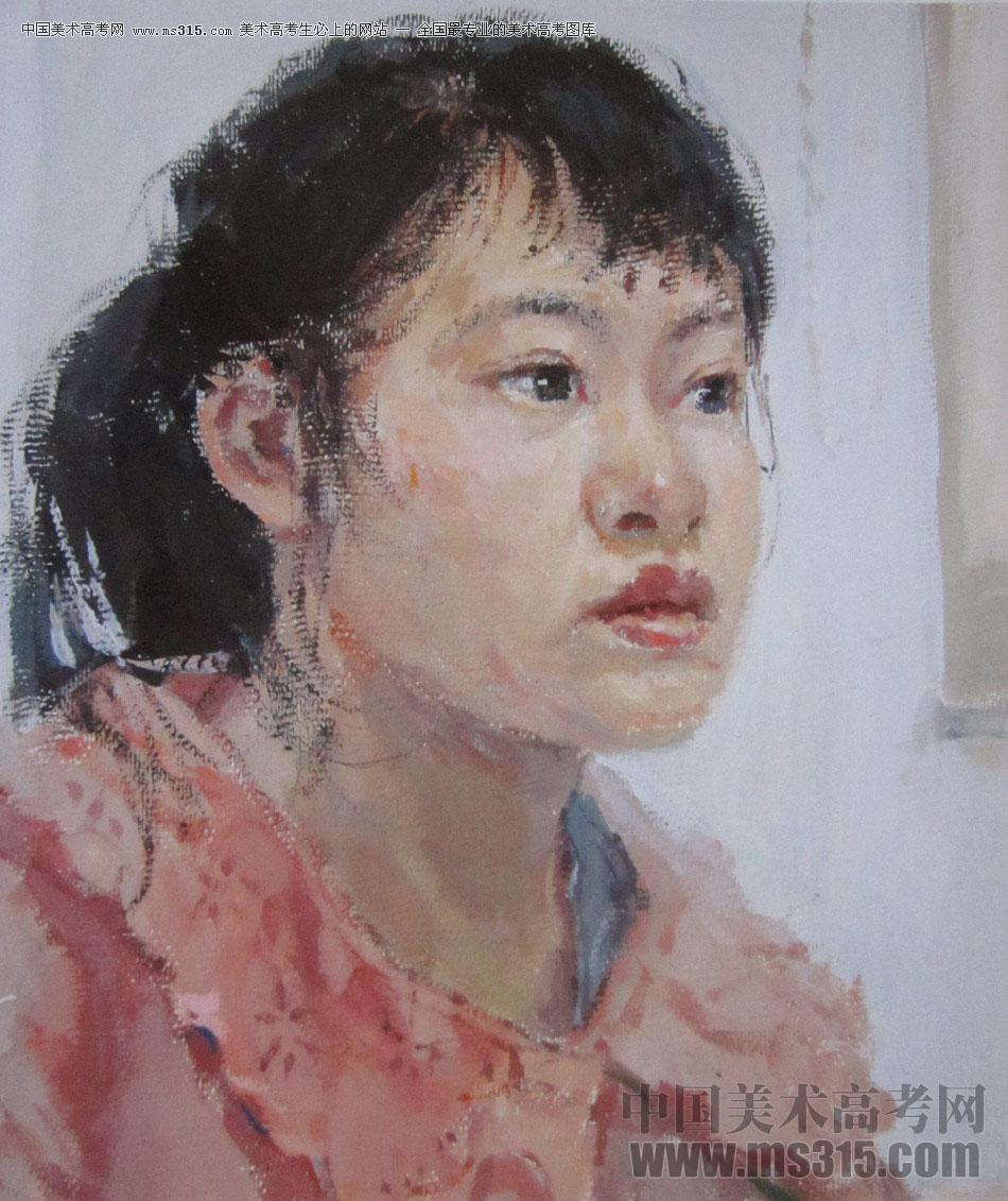 2016年西安美术学院色彩优秀试卷6