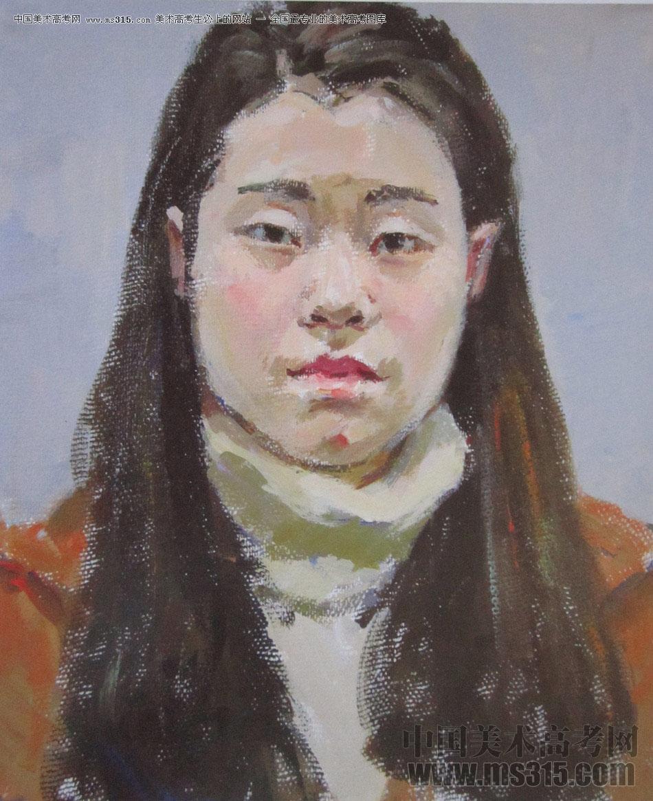 2016年西安美术学院色彩优秀试卷44