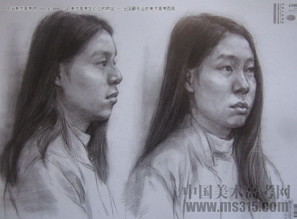 2017年中国美术学院素描优秀试卷2