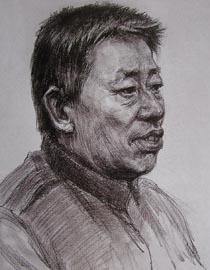 2010-2011年天津美术学院素描优秀试卷26(绘画、雕塑)
