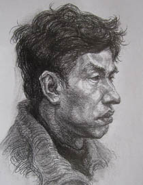 2010-2011年天津美术学院素描优秀试卷10(绘画、雕塑)