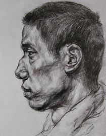 2010-2011年天津美术学院素描优秀试卷14(绘画、雕塑)