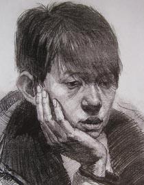 2010-2011年天津美术学院素描优秀试卷19(绘画、雕塑)