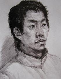 2010-2011年天津美术学院素描优秀试卷20(绘画、雕塑)