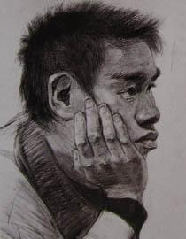 2010-2011年天津美术学院素描优秀试卷23(绘画、雕塑)