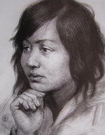 2010-2011年天津美术学院素描优秀试卷36(绘画、雕塑)