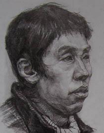 2010-2011年天津美术学院素描优秀试卷37(绘画、雕塑)