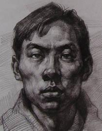 2010-2011年天津美术学院素描优秀试卷38(绘画、雕塑)