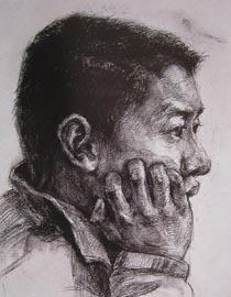 2010-2011年天津美术学院素描优秀试卷41(绘画、雕塑)