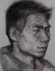 2010-2011年天津美术学院素描优秀试卷58(绘画、雕塑)