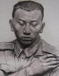 2010-2011年天津美术学院素描优秀试卷77(绘画、雕塑)