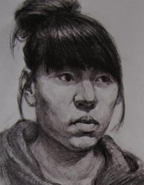 2010-2011年天津美术学院素描优秀试卷82(艺术设计、工业设计、动画)