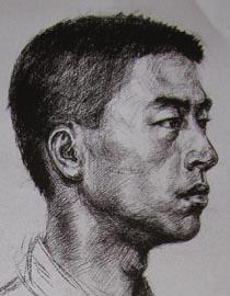 2010-2011年天津美术学院素描优秀试卷88(艺术设计、工业设计、动画)