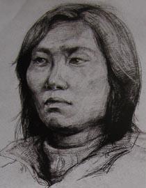 2010-2011年天津美术学院素描优秀试卷94(艺术设计、工业设计、动画)