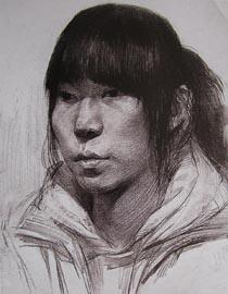 2010-2011年天津美�g�W院素描��秀�卷106(��g�O�、工�I�O�、�赢�)