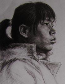 2010-2011年天津美术学院素描优秀试卷107(艺术设计、工业设计、动画)