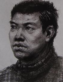 2010-2011年天津美术学院素描优秀试卷108(艺术设计、工业设计、动画)