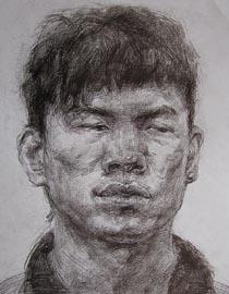 2010-2011年天津美术学院素描优秀试卷114(艺术设计、工业设计、动画)