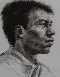 2010-2011年天津美术学院素描优秀试卷118(艺术设计、工业设计、动画)