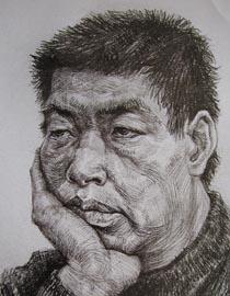 2010-2011年天津美术学院素描优秀试卷126(艺术设计、工业设计、动画)