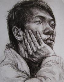 2010-2011年天津美术学院素描优秀试卷131(艺术设计、工业设计、动画)