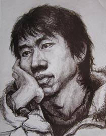 2010-2011年天津美术学院素描优秀试卷134(艺术设计、工业设计、动画)