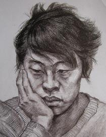 2010-2011年天津美术学院素描优秀试卷136(艺术设计、工业设计、动画)