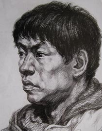 2010-2011年天津美术学院素描优秀试卷144(艺术设计、工业设计、动画)