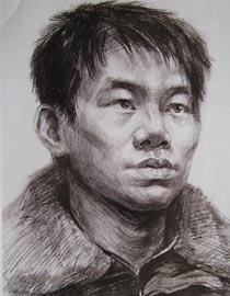 2010-2011年天津美术学院素描优秀试卷145(艺术设计、工业设计、动画)