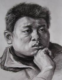 2010-2011年天津美�g�W院素描��秀�卷1(�L��、雕塑)