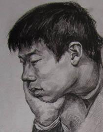 2010-2011年天津美术学院素描优秀试卷2(绘画、雕塑)
