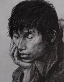2010-2011年天津美术学院素描优秀试卷3(绘画、雕塑)